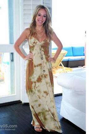 Gypsy 05 talula silk long maxi dress