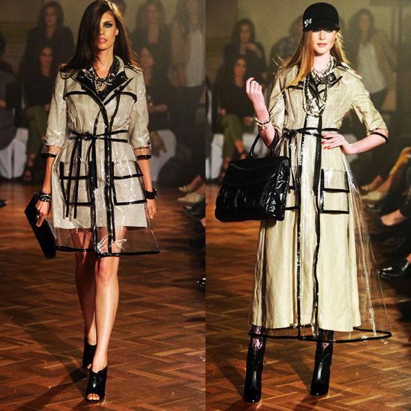 Fashion Or Foolishness? Mimco: Transparent Plastic Pieces