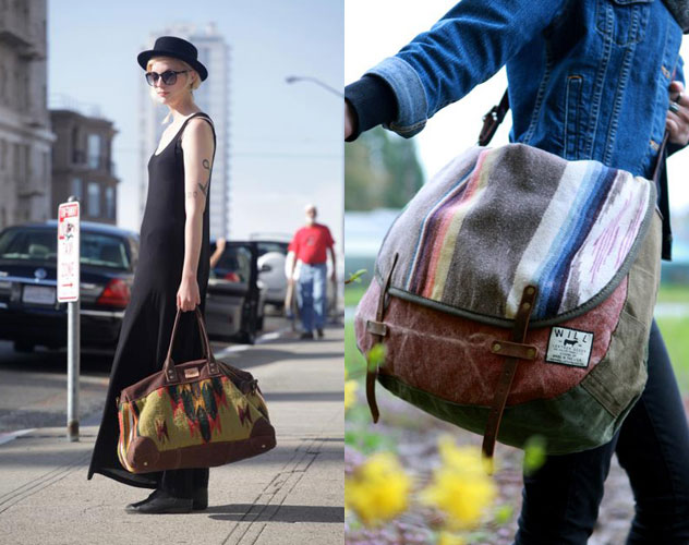 Will Leather Goods Oaxacan Duffle   Will Leather Goods La Manta Messenger  Bag in Olive af66ecccbf