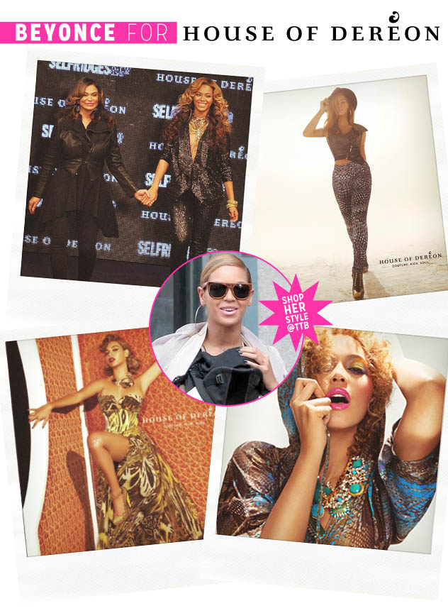 Click to Shop Beyoncé's Style @ TTB