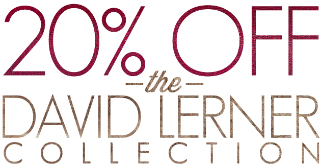 20  Off  The David Lerner Collection   The Trend Boutique