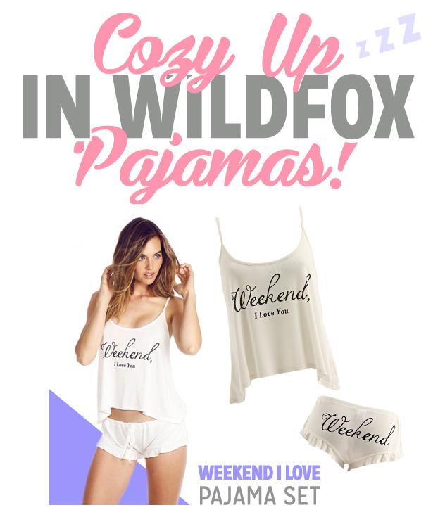WildfoxPjs1